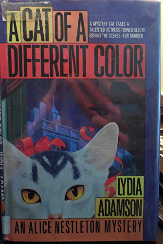 9780816153985: A Cat of a Different Color: An Alice Nestleton Mystery (G K Hall Large Print Book Series)