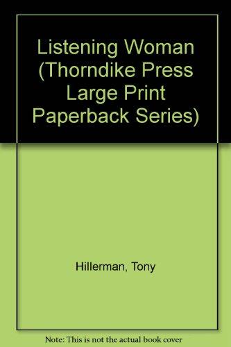 9780816154357: Listening Woman (Thorndike Press Large Print Paperback Series)
