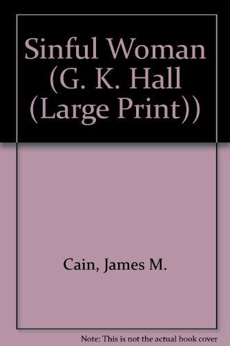 9780816154623: Sinful Woman (Thorndike Press Large Print Paperback Series)