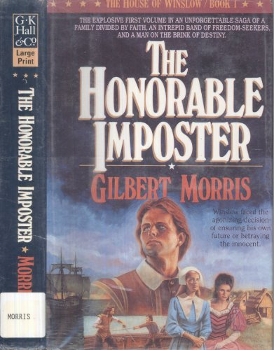 9780816156726: The Honorable Imposter, Large Print (The House of Winslow)