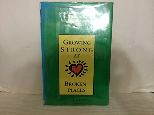 9780816156832: Growing Strong at Broken Places (G K Hall Large Print Book Series)