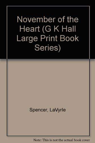9780816157006: November of the Heart (G K Hall Large Print Book Series)