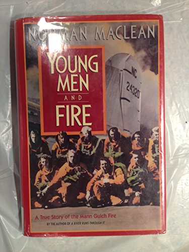 9780816157341: Young Men & Fire/a True Story of the Mann Gulch Fire (G K Hall Large Print Book Series)
