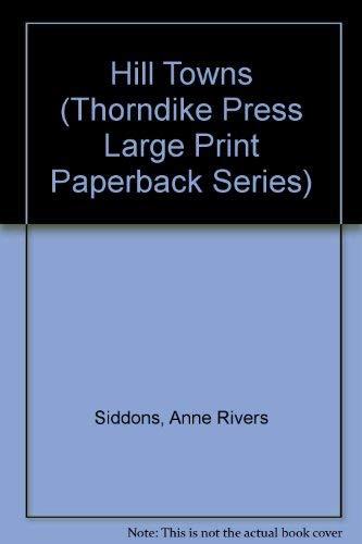 9780816158492: Hill Towns (Thorndike Press Large Print Paperback Series)