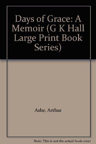 9780816158836: Days of Grace: A Memoir (G K Hall Large Print Book Series)