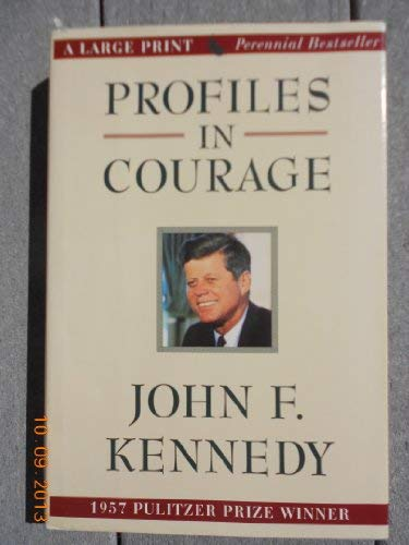 9780816158867: Profiles in Courage (G K Hall Large Print Book Series)