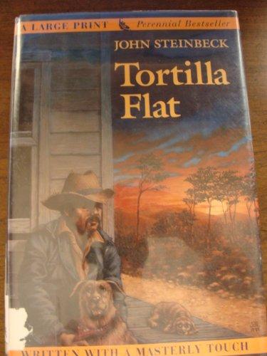 9780816159017: Tortilla Flat (G.k. Hall Large Print)
