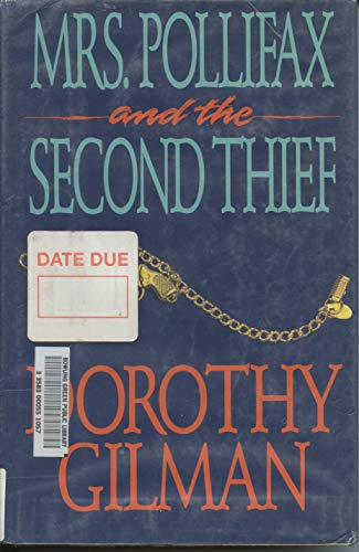 9780816159178: Mrs. Pollifax and the Second Thief/Large Print