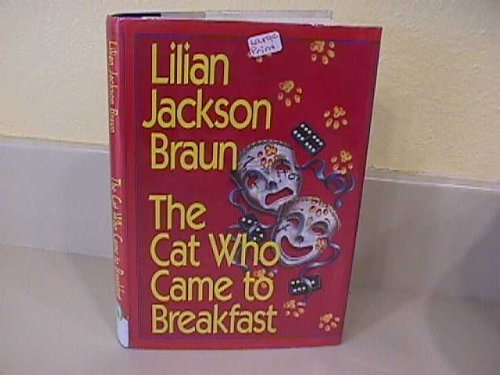 9780816159345: The Cat Who Came to Breakfast (G K Hall Large Print Book Series)
