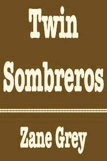 9780816159734: Twin Sombreros (G K Hall Large Print Book Series)
