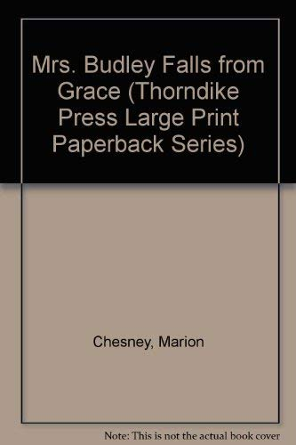 9780816159802: Mrs. Budley Falls from Grace (Thorndike Press Large Print Paperback Series)
