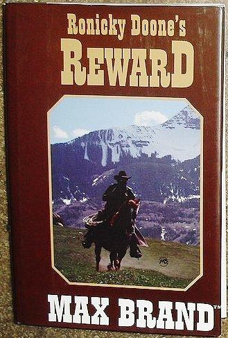 9780816159994: Ronicky Doone's Reward (G K Hall Large Print Book Series)