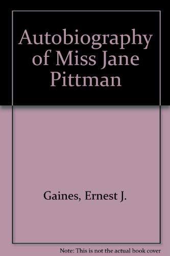 9780816160105: Autobiography of Miss Jane Pittman