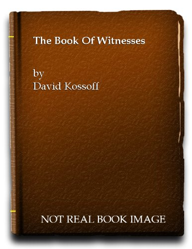 9780816160419: The book of witnesses