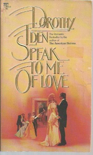 9780816160617: Speak to me of love