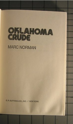 9780816161393: Oklahoma Crude