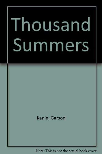 9780816161928: Thousand Summers