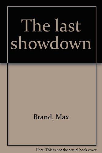 9780816163380: The last showdown
