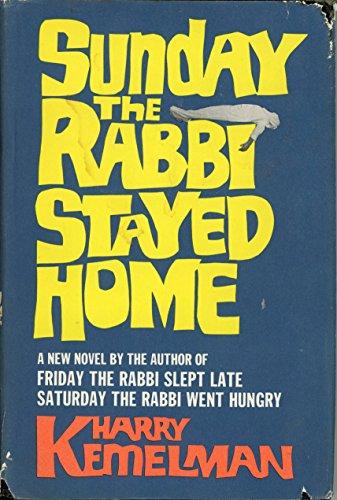 9780816164998: Sunday the rabbi stayed home