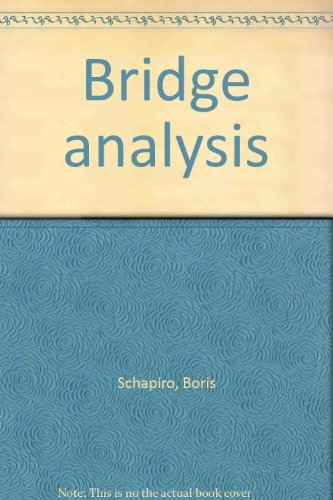 9780816165087: Bridge analysis