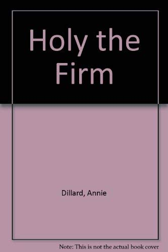 9780816165711: Holy the Firm