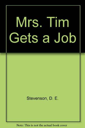 9780816167876: Mrs. Tim Gets a Job