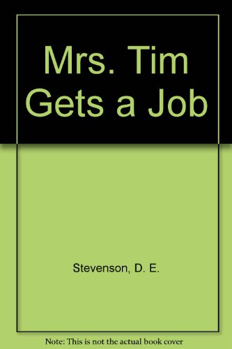 9780816167876: Mrs. Tim Gets a Job