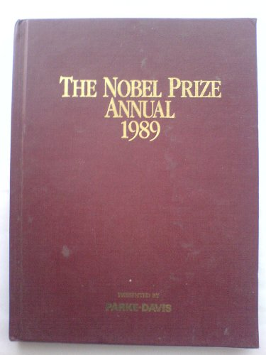 9780816172535: The Nobel Prize Annual, 1989 (Monograph Series)