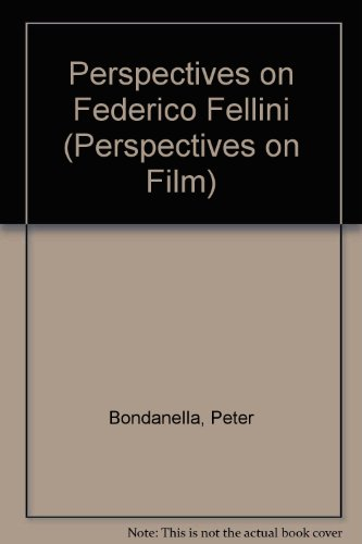9780816173303: Perspectives on Federico Fellini (Perspectives on Film)