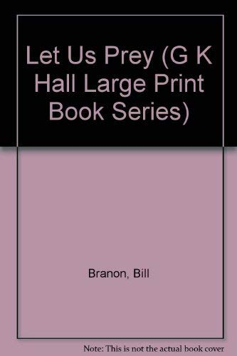 9780816174324: Let Us Prey (G K Hall Large Print Book Series)