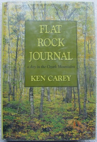 9780816174331: Flat Rock Journal: A Day in the Ozark Mountains (G K Hall Large Print Book Series)