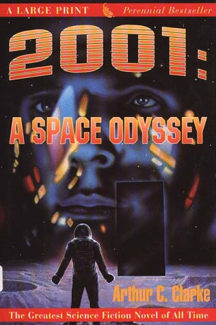9780816174867: 2001: A Space Odyssey (G K Hall Perennial Large Print Book)