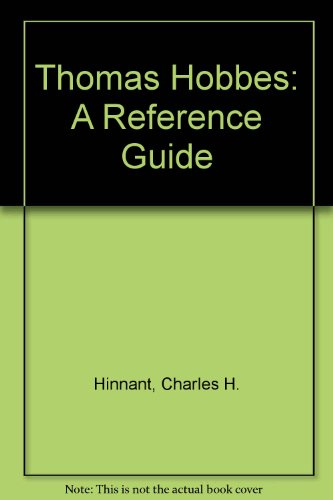 9780816181735: Thomas Hobbes: A Reference Guide (A Reference publication in literature)