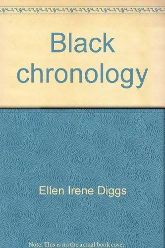 9780816185436: Black chronology: From 4000 B.C. to the abolition of the slave trade (Reference publications in Afro-American studies)