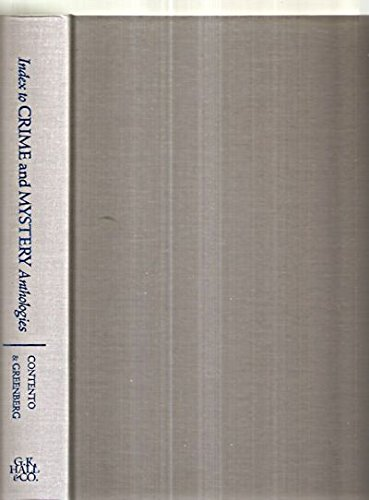 9780816186297: Index to Crime and Mystery Anthologies (Monograph Series)