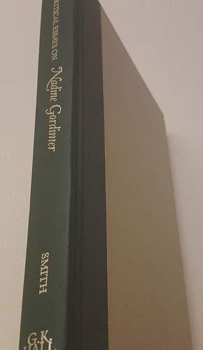 9780816188475: Critical Essays on Nadine Gordimer (Critical Essays on World Literature)