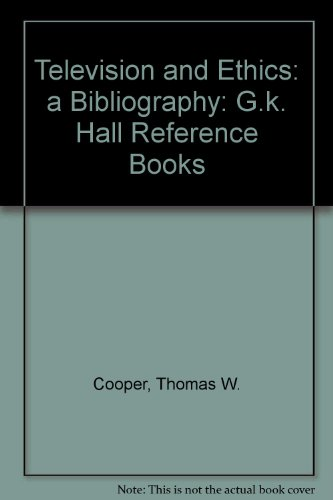 9780816189663: Television and Ethics: A Bibliography (G.K. Hall Reference Books)
