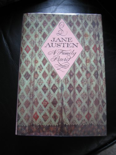 9780816190928: Jane Austen: A Family Record