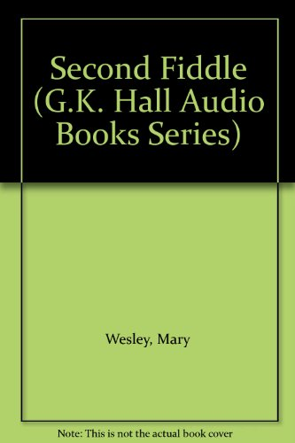 9780816192557: Second Fiddle (G.K. Hall Audio Books Series)
