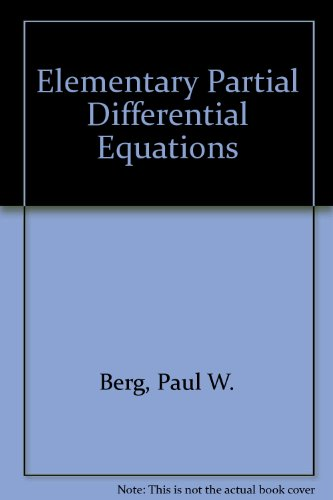9780816205844: Elementary Partial Differential Equations