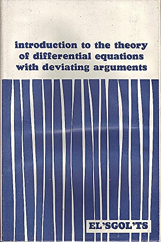 Introduction to the Theory of Differential Equations: L E El'sgolt's