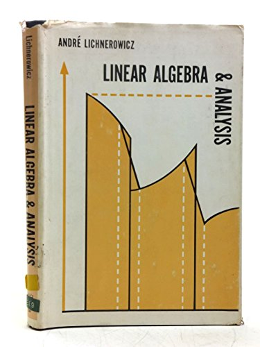 9780816252046: Linear Algebra and Analysis