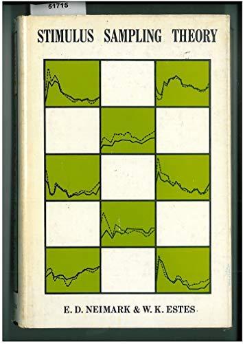 9780816263554: Stimulus Sampling Theory