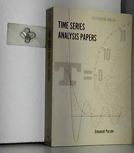 Time Series Analysis Papers: Parzen, E