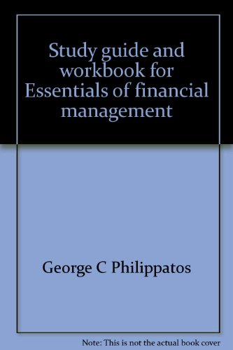 9780816266968: Study guide and workbook for Essentials of financial management: text and cases