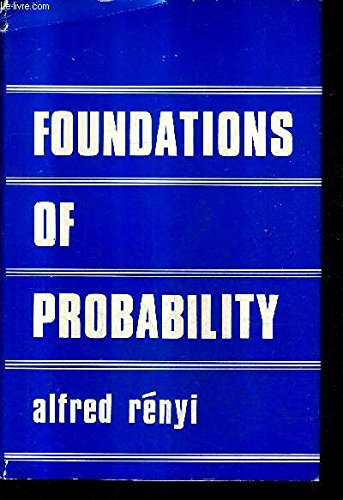9780816271146: Foundations of Probability