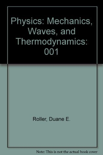 9780816272846: Physics: Mechanics, Waves, and Thermodynamics (Holden-Day series in physics)
