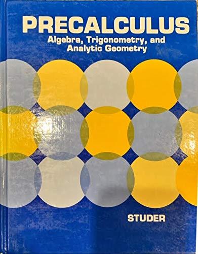 9780816285402: Precalculus