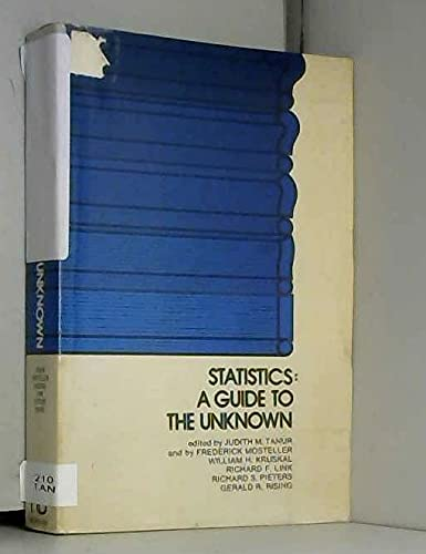 9780816285945 statistics a guide to the unknown abebooks 0816285942 rh abebooks com statistics a guide to the unknown free download Statistics for Dummies