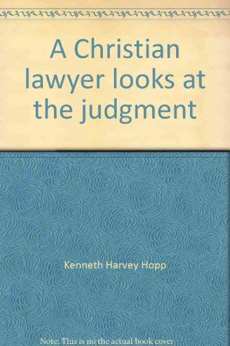9780816305575: A Christian lawyer looks at the judgment